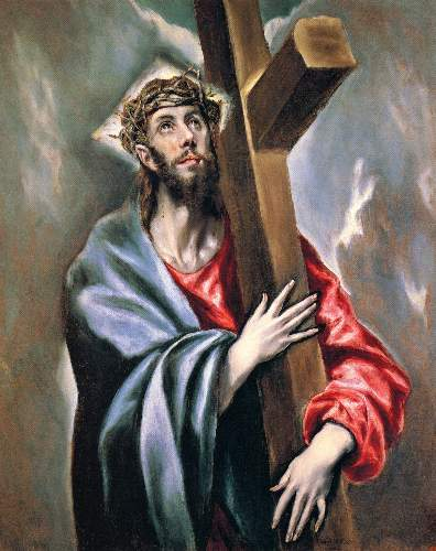 Christ carrying the cross [3] by Greco